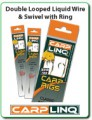 Carp Linq – Double Looped Liquid Wire & Swivel With Ring