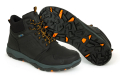Fox Collection Black/Orange Mid Boots