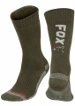 Fox Green/Silver Thermolite Long Socks
