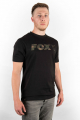 Fox Black/Camo Print Logo T Shirt