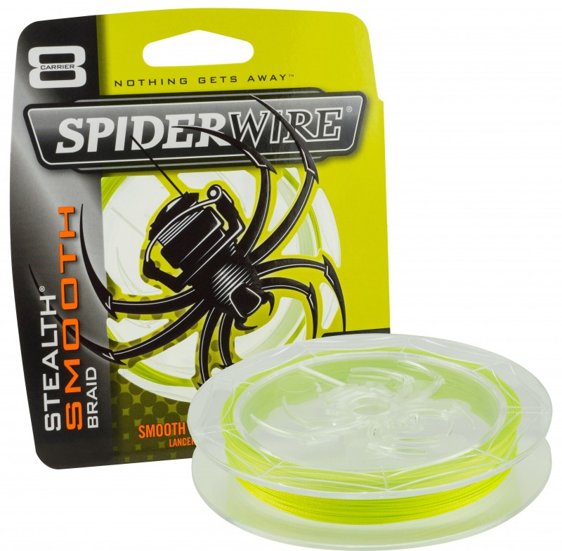 šnúra Spiderwire Stealth Smooth 8 / yellow - žltá 150m